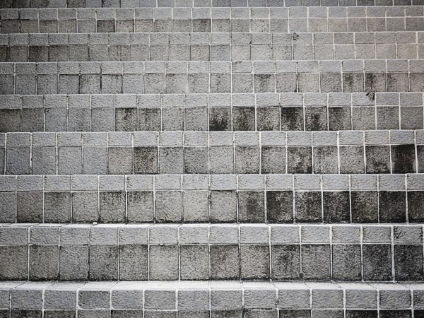 High pressure cleaning services brick steps